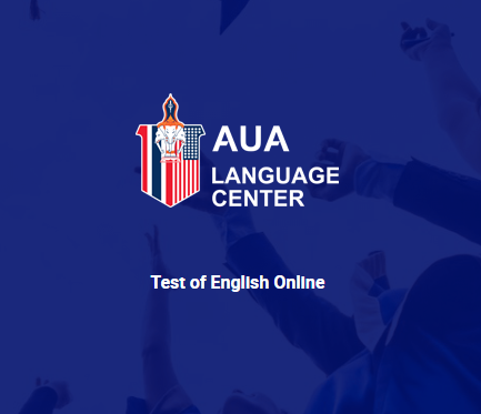 AUA Test of English online. ATE